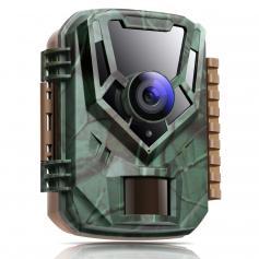 KF-301 16MP 1080P HD Trail Camera 0.4s Trigger Outdoor Waterproof Hunting Infrared Night Vision Mini Camera
