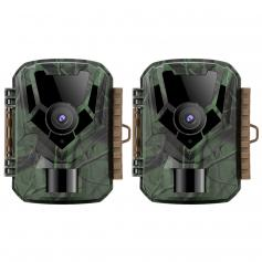 KF-301 dark green 16MP/0.4 seconds start, 1 PIR HD outdoor waterproof hunting and hunting infrared night vision camera official website sale (2pcs)