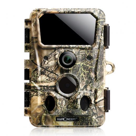 4K 30MP Trail Camera WiFi Game Camera 120° Flash Range 0.2s Trigger Clear Night Vision IP65 Waterproof Wildlife Camera