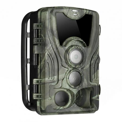 4K WiFi 30MP Trail Camera Game Camera with 940nm Infrared Outdoor IP66 Waterproof Hunting Infrared Night Vision Camera