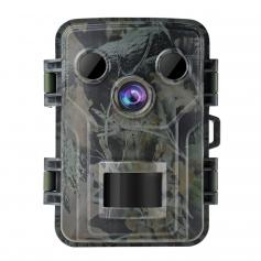 """M1 Mini Trail Camera 20MP 1080P Night Vision Waterproof Hunting Camera With 120° Motion Advanced Sensor View 0.2s Trigger Time 2.0"""" LCD for Wildlife Monitoring"""