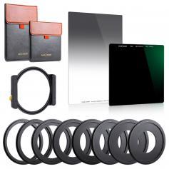 Square Filter Kit 100mm ND1000 + 150mm GND8 + Metal Square Filter Holder Set