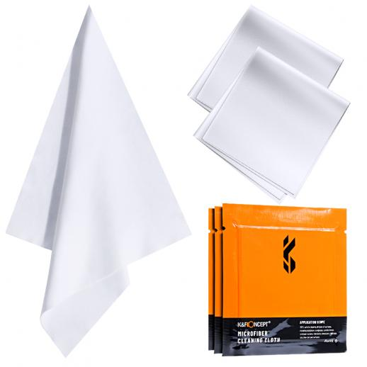 Cleaning cloth set needle a dust-free cleaning cloth dry cloth white 15*15cm CPE with 3 pieces