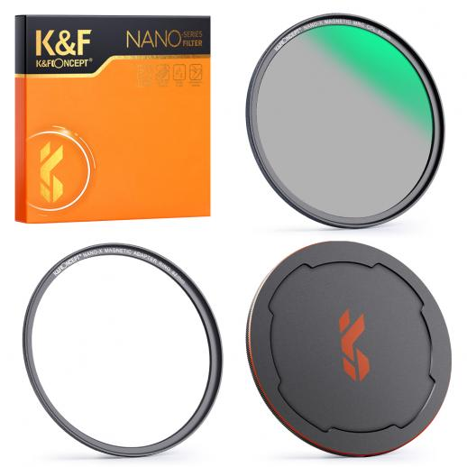 67mm CPL Magnetic Lens Filter, HD Waterproof Scratch-Resistant Anti-Reflection, Nano-X Series