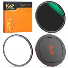 67mm ND64 Magnetic Lens Filter HD Waterproof Scratch-resistant Anti-reflection NANO-X Series