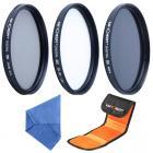 58mm Filter Set (UV, CPL, ND4)