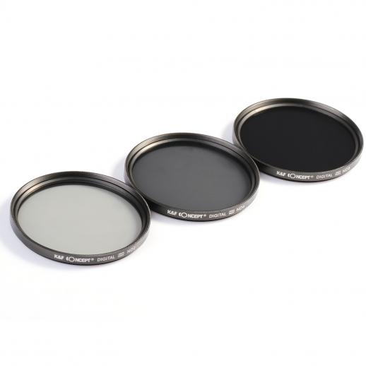 58mm Filter Set (ND2, ND4, ND8)