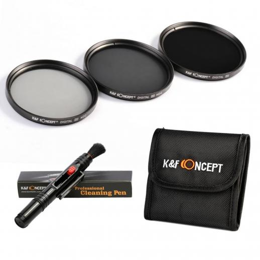 67mm Filter Set (ND2, ND4, ND8)
