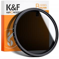 K&F KV31 77mm ND2 to ND400 Variable ND Filter For Video