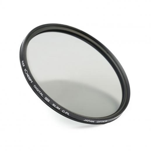 K/&F Concept HD 58mm Slim Circular Polariser CPL Polarizer Filter Polarising