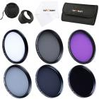 77mm Filter Set (UV, CPL, FLD, ND2, ND4, ND8)