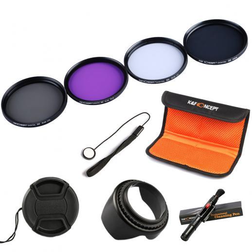 55mm Filter Set (UV, CPL, FLD, ND4)