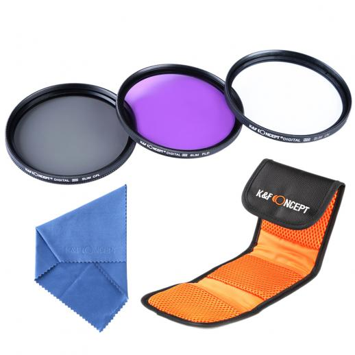 40.5mm Filter Set (UV, CPL, FLD)