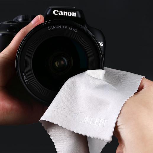 Kit de Limpeza de Câmera DSLR 3 em 1 (Limpador de Soprador de Lente + Caneta de Limpeza + Pano de Limpeza de Macrofibra)
