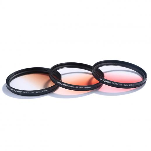 52mm Filter Set (UV, CPL, FLD, Graduated Blue, Orange, Grey, Red, Green, Brown)