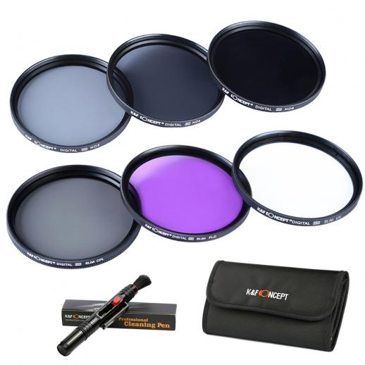 40.5 mm Filtro Kit UV, CPL, FLD, ND2, ND4, ND8