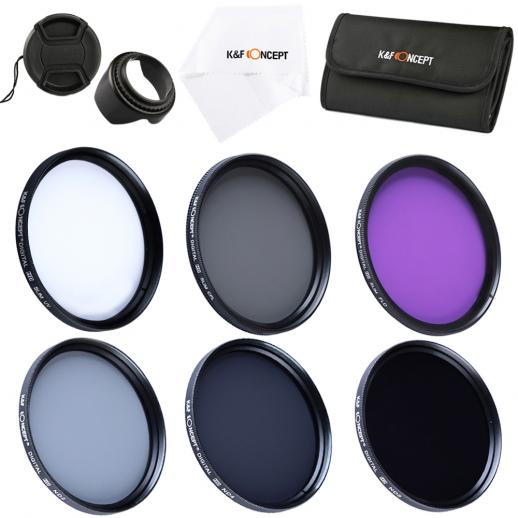49mm Filter Set (UV, CPL, FLD, ND2, ND4, ND8)