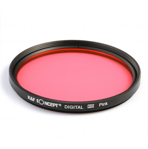 52mm Color Filter Set (Orange, Blue, Grey, Red, Green, Brown, Yellow, Purple, Pink)
