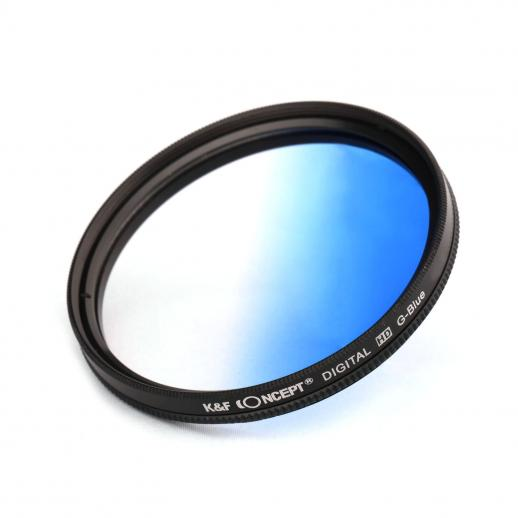 58mm Filter Set (Graduated & Color Orange, Blue, Red, Green, Yellow, Purple, Pink, Grey, Brown)