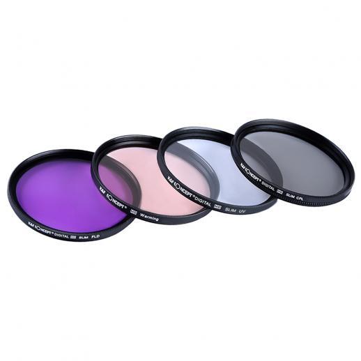 52mm Filter Set (UV, CPL, FLD, Warm)