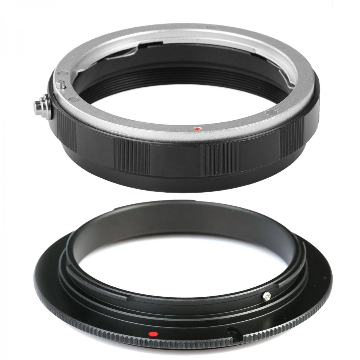 K Amp F Concept 58mm Macro Reverse Adapter Ring Lens Mount