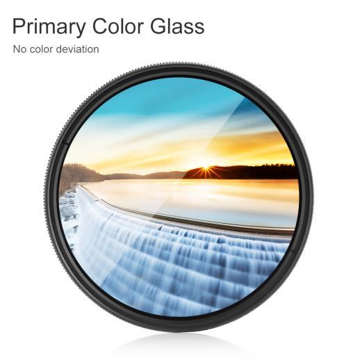 GREEN.L 62mm ND2000 ND Filter Slim Neutral Density Filter Optical Glass 11 Stop