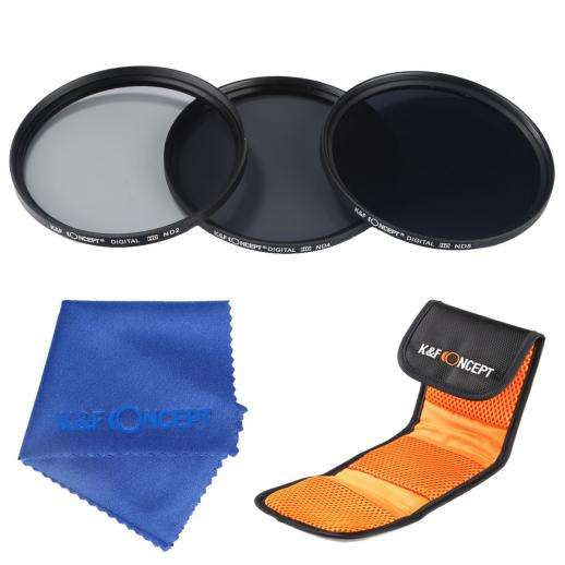 40.5mm Filter Set (ND2, ND4, ND8)